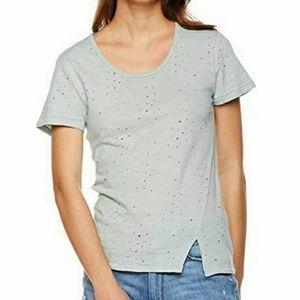 🆕Sage distressed t-shirt
